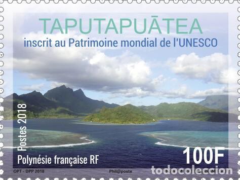 FRENCH POLYNESIA 2019 - MARAE TAPUTAPUATEA MNH (Sellos - Extranjero - Oceanía - Otros paises)
