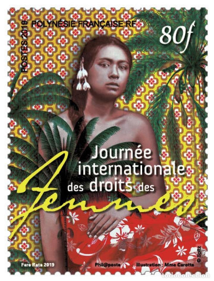 FRENCH POLYNESIA 2019 - JOURNÉE INTERNATIONALE DES DROITS DES FEMMES MNH (Sellos - Extranjero - Oceanía - Otros paises)