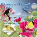 Sellos: NEW CALEDONIA 2018 - POLLINISATEURS SOUVENIR SHEET MNH. Lote 155542178