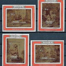 Sellos: AITUTAKI,ISLAS COOK,1981,NAVIDAD,MNH**,YVERT 33-36. Lote 158830366