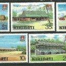 Sellos: KIRIBATI 1980 IVERT 37/41 *** DESARROLLO DEL TURISMO - CONSTRUCCIONES . Lote 159485146