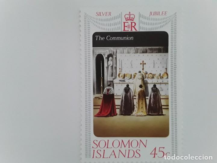 SELLO USADO ISLANDS SOLOMON (Stamps - International - Oceania - Other countries)