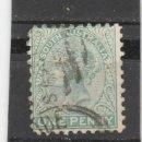 Sellos: SOUTH AUSTRALIA 1900-07 - VICTORIA 1 P. - USADO . Lote 160370122