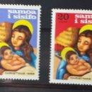 Sellos: SELLOS DE SAMOA, NAVIDAD 1968. Lote 160516660