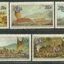 Sellos: NIUE 1978 IVERT 200/4 *** BICENTENARIO DEL DESCUBRIMIENTO DE HAWAI POR EL CAPITAN COOK - BARCOS. Lote 162784530