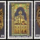 Sellos: 1980 CHIPRE GRIEGO - (STAMPWORLD) Nº 555/57. Lote 164008065