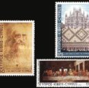 Sellos: 1981 CHIPRE GRIEGO - (STAMPWORLD) Nº 560/62. Lote 164008069