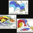 Sellos: 1980 CHIPRE GRIEGO - (STAMPWORLD) Nº 533/35. Lote 164008053