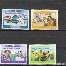 Timbres: PAPUA NUEVA GUINEA Nº 458 AL 461 (**). Lote 178655460