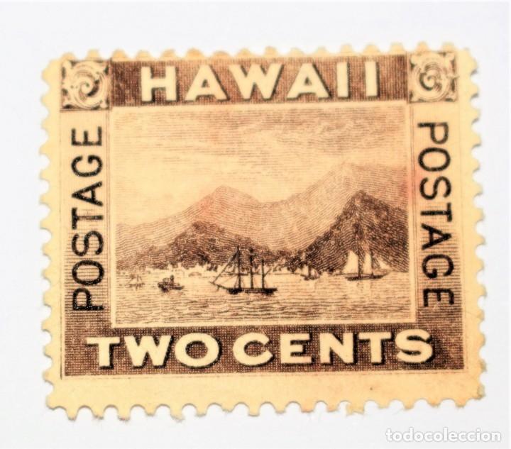 HAWAI SELLO ANTIGUO (Sellos - Extranjero - Oceanía - Otros paises)