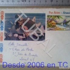 Sellos: TUBAL TAHITI FRANCIA CORREO AEREO POLINESIA FRANCESA SOBRE CARTA 1968 ENVÍO 2019 70 CTMS T1 . Lote 179028968