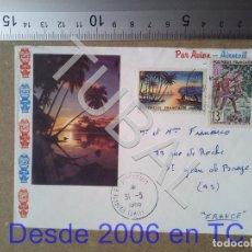 Sellos: TUBAL TAHITI FRANCIA 1966 SOBRE ENVIO 70 CENT 2019 T1. Lote 179324882