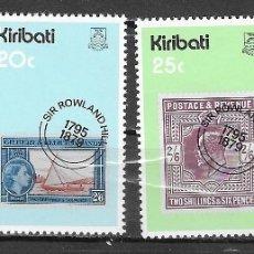 Sellos: KIRIBATI Nº 17 AL 20 (**). Lote 180234288