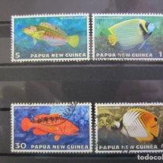 Sellos: PAPUA NUEVA GUINEA 1976 - 4 V. USADO. Lote 180272005