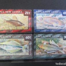 Sellos: PAPUA NUEVA GUINEA 1993 - 4 V. NUEVO. Lote 180272471