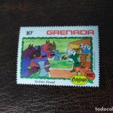 Sellos: SELLO DE GRANADA, NAVIDAD 1982. Lote 183545963