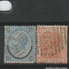 Sellos: LOTE F SELLOS ITALIA SIGLO XIX. Lote 185990501
