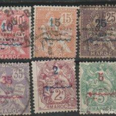 Sellos: LOTE F SELLOS MARRUECOS FRANCES. Lote 185991918
