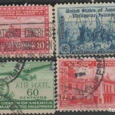 Sellos: LOTE F SELLOSFILIPINAS ESTADOS UNIDOS. Lote 185991980