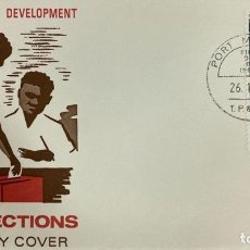 Sellos: SOBRE PRIMER DIA. FIRST DAY COVER. CONSTITUTIONAL DEVELOPMENT. 1972 ELECTIONS. PAPUA NEW GUINEA,1972. Lote 186847201