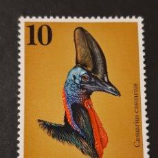 Sellos: PAPUA NUEVA GUINEA , YVERT 270 (*) FAUNA AVES. Lote 194226538