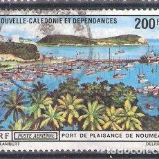 Sellos: NUEVA CALEDONIA AÉREO Nº 124º PUERTO DE NOUMEA. COMPLETA. Lote 194885653