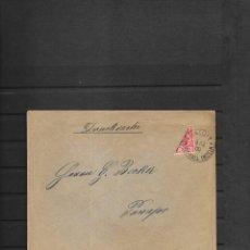 Sellos: MASHALL ISLAS COLONIA ALEMANA SOBRE CIRCULADO EN EL AÑO 1900 CON SELLO BISECTADO . Lote 197732246