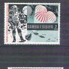 Sellos: SAMOA 1969 SPACE, US MOON ASTRONAUTS, MNH G.045. Lote 199221013