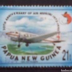 Timbres: PAPUA NUEVA GUINEA AVIONES SELLO USADO. Lote 202098686