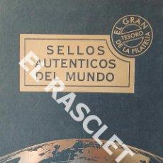 Sellos: SELLOS AUTENTICOS DEL MUNDO - EL GRAN TESORO DE LA FILATELIA - DOOCOLLECT.COM -. Lote 202477083