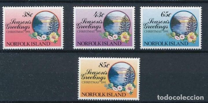 NORFOLK 1991 IVERT 503/6 *** NAVIDAD (Sellos - Extranjero - Oceanía - Otros paises)