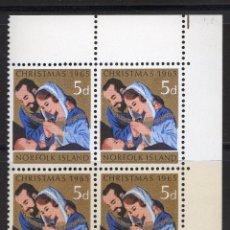 Sellos: NORFOLK ISLANDS 1965 BLOQUE MNH MICHEL 61. Lote 210005035