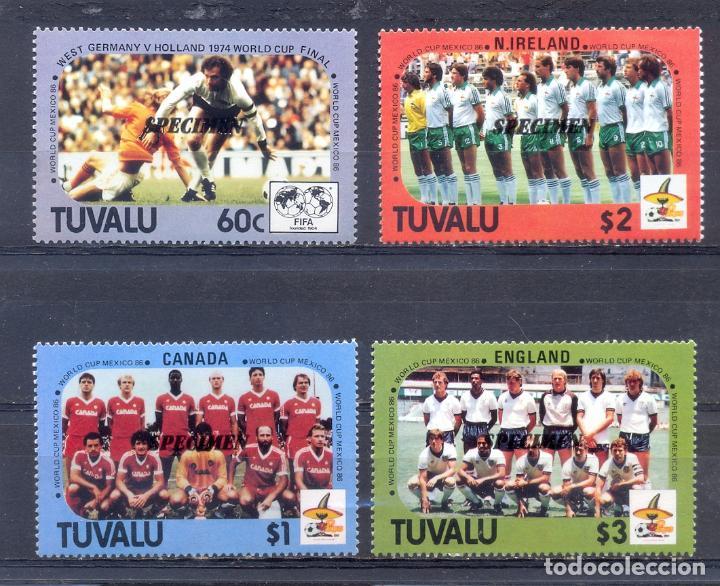 TUVALU -1986 (Sellos - Extranjero - Oceanía - Otros paises)