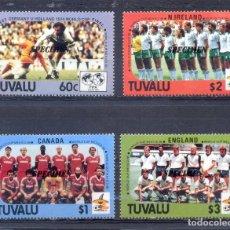 Sellos: TUVALU -1986. Lote 210522968