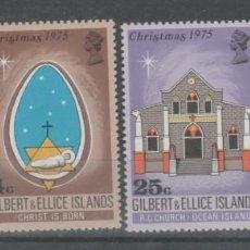 Sellos: ISLAS GILBERT & ELLICE , 1975.. Lote 213661445