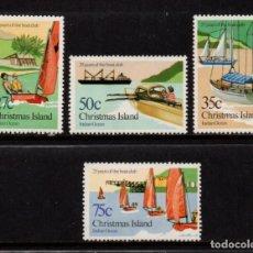 Sellos: CHRISTMAS 175/78** - AÑO 1983 - BARCOS - 25º ANIVERSARIO DEL CLUB NAÚTICO. Lote 213724792