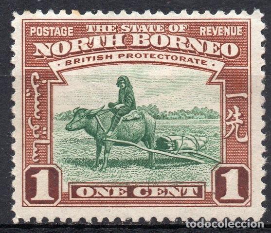 NORTH BORNEO/1939/MNH/SC#193/ TRANSPORTE DE BUFALO (Sellos - Extranjero - Oceanía - Otros paises)