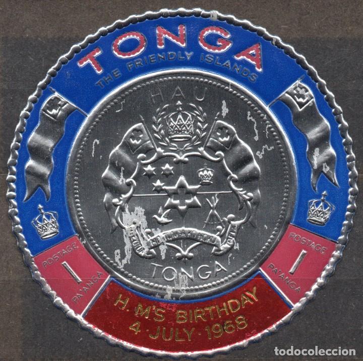 TONGA/1968/MNH/SC#209/ 50º CUMPLEAÑOS DE SU MAJESTAD / REALEZA (Sellos - Extranjero - Oceanía - Otros paises)
