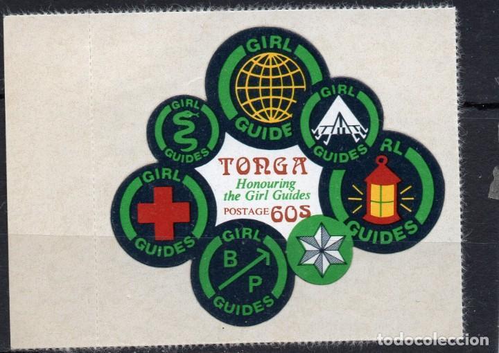 TONGA/1974/MNH/SC#346/ NIÑAS GUIAS DE TONGA (Sellos - Extranjero - Oceanía - Otros paises)