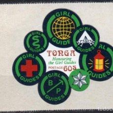 Sellos: TONGA/1974/MNH/SC#346/ NIÑAS GUIAS DE TONGA. Lote 221341785