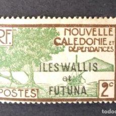 """Sellos: 1930-1938 NUEVA CALEDONIA SOBRECARGA """"ISLAS WALLIS Y FUTUNA"""". Lote 221411037"""