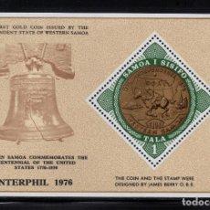 Sellos: SAMOA HB 11** - AÑO 1976 - BICENTENARIO DE LA INDEPENDENCIA DE ESTADOS UNIDOS. Lote 221593970