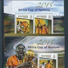 Sellos: SALOMON 2015 HB *** COPA AFRICA DE NACIONES - DEPORTES - FUTBOL. Lote 221689063