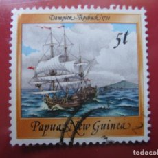 Sellos: +PAPUA NUEVA GUINEA, 1987, BARCOS HISTORICOS, YVERT 538. Lote 222870776