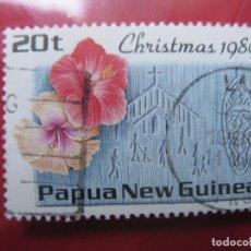 Sellos: +PAPUA NUEVA GUINEA,1989, NAVIDAD, YVERT 601. Lote 222875116