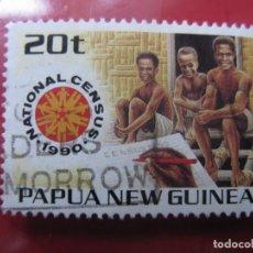Sellos: +PAPUA NUEVA GUINEA, 1990, CENSO NACIONAL, YVERT 609. Lote 222875457