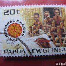 Sellos: +PAPUA NUEVA GUINEA, 1990, CENSO NACIONAL, YVERT 609. Lote 222875553