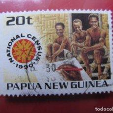 Sellos: +PAPUA NUEVA GUINEA, 1990, CENSO NACIONAL, YVERT 609. Lote 222875666