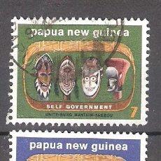 Sellos: PAPÚA-NUEVA GUINEA Nº 259/260º INDEPENDENCIA GUBERNAMENTAL. SERIE COMPLETA. Lote 228338415