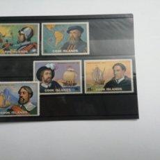 Sellos: LOTE DE 5 SELLOS DE COOK ISLANDS. Lote 229240615